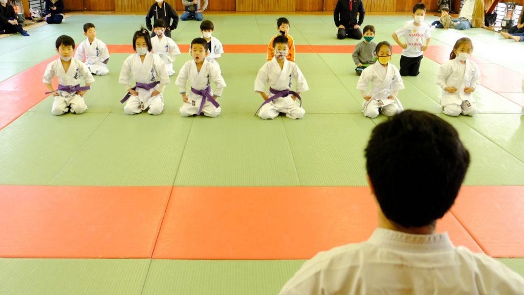 あいさつ-武道空手少年クラブ花小金井教室(禅道会東京)