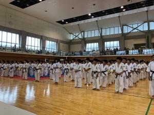 禅道会Jr茶帯トーナメント&総合空手トーナメント1