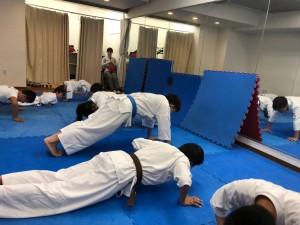 2018.5.11武道空手少年クラブ 新宿区大久保教室