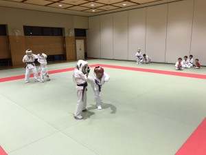 2017.8.23武道空手少年クラブ小平市鷹の台教室