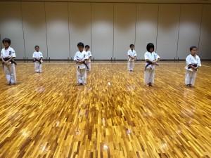 2017.8.30武道空手少年クラブ小平市鷹の台教室