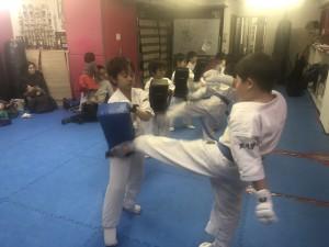2018.1.11武道空手少年クラブ小平市鷹の台教室