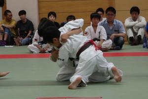 子供武道空手少年クラブ小平市鷹の台教室柔術大会